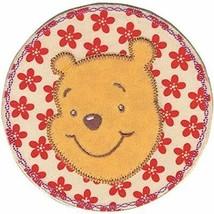 Disney Winnie L'Ourson Fleur Cercle Brodé à Repasser Applique - $6.83