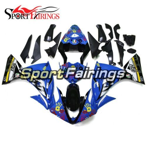 Primary image for For Yamaha YZF1000 R1 2009 2010 2011 ABS Injection Fairings Shark Attack Covers