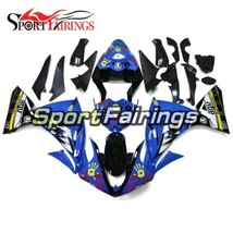 For Yamaha YZF1000 R1 2009 2010 2011 ABS Injection Fairings Shark Attack Covers - $485.26