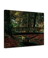 "Park Bridge Canvas Artwork 24"" x 18"" Gallery Wrapped Giclée Print by BL ... - $69.99"