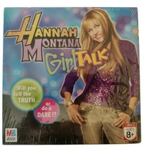 Milton Bradley Hannah Montana Girl Talk Truth or Dare Game New Ages 8+ Hasbro - $14.89