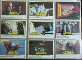 Battlestar Galactica Sticker / Trading Cards - $3.96