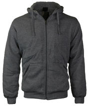 Maximos Men's Athletic Soft Sherpa Lined Fleece Zip Up Hoodie Sweater Jacket image 8