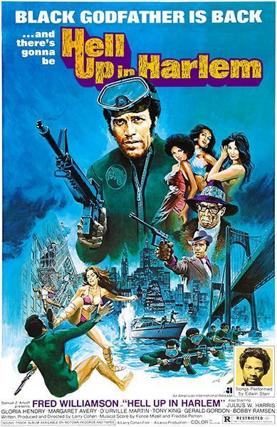 Primary image for Hell Up In Harlem - 1973 - Movie Poster
