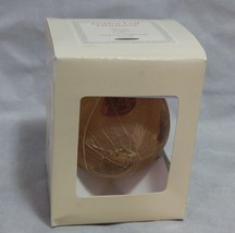 Smith & Hawken Golden Leaf Glass Ball Ornament - $15.84