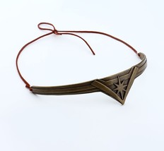 Wonder Woman Metal Tiara and Crown with Leather Rope Cosplay movie - $14.75