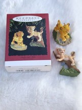 "Hallmark Keepsake Ornament ""Simba and Nala"" The Lion King Disney, Box, Q... - $19.75"