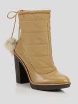 Kate Spade New York Women Ginnie Faux-Fur Pom-Pom Booties Camel Size 8 - $156.11