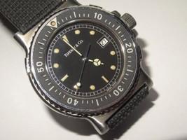 Mens TIFFANY & Co. 39mm St. Steel Quartz Diver Watch Model M-0719 w/ T&C... - $1,138.50