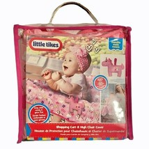 Little Tikes Shopping Cart High Chair Cover Pink - $19.35