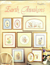 Leisure Arts Leaflet 409 EARTH AWAKENS by Mark Vincent Bertrand - $5.00