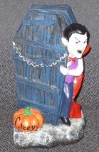 Dracula coming out of the coffin decoration MUST SEE F/S - $18.70
