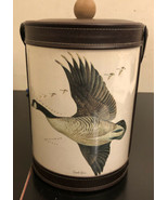 GEORGES BRIARD Vinyl Ice Bucket w/ handle Canadian Goose Canada Vintage - $29.70