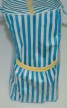 Mainstreet Collection DBST6665 Stripe Diaper Bag Coated Canvas image 7