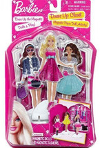 Barbie Dress Up Closet Magnetic Paper Doll Activity By Mattel - $61.41