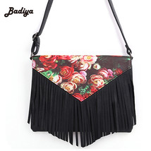 2017 women leather handbags womens bag floral p... - $38.50