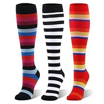 Compression Socks For Women and Men - 20-30mmHg - 3 Pairs BEST Stockings... - $19.83
