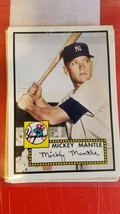 "2006 topps ""rookie of the week"" baseball cards w/ (2)mickey mantles - $16.83"