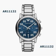 Emporio Armani Uomo Sport Cronografo Orologio Quadrante Blu AR11132 - $252.66