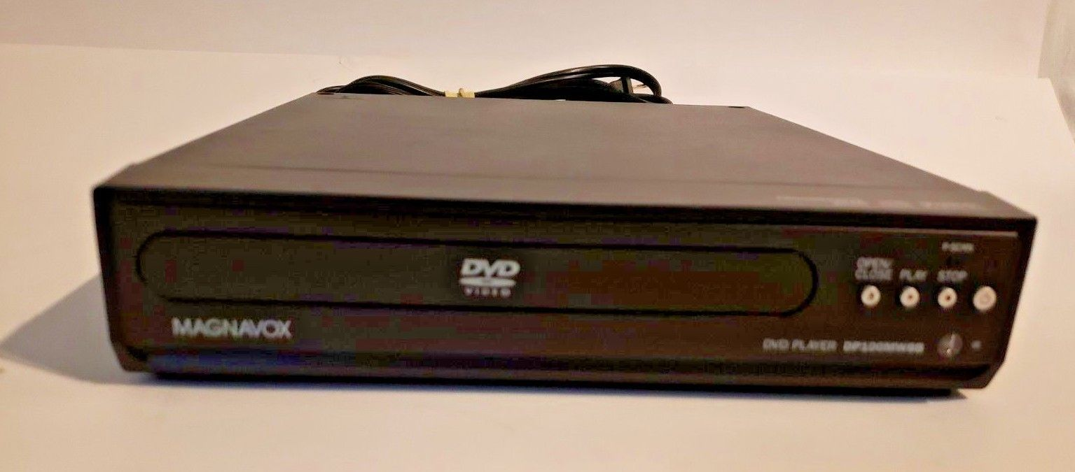 Magnavox DP100MW8B DVD Player..Tested Works Great!!!