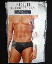 Polo Ralph Lauren White Slim Fit Stretch Briefs 2 in Package Men's - $32.24