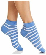 Kate Spade Anklet Stripe Socks,One Pair, Periwinkle - $12.86