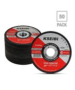 KSEIBI 50 Pack 646004 Angle Grinder Cut Off Wheels for Cutting Metal Sta... - $49.85