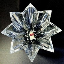 """1 (One) Cristal D'arques Gigogne #S7112 Heavy Crystal Star Bowl 11.75"""" W Tags - $35.73"""