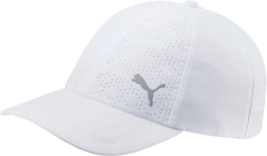 PUMA Ladies Golf DuoCell Cap / Bright White / Free Puma Hat Clip $8.95 value - $22.77