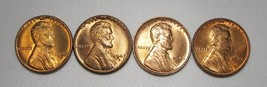 1946- D&S, 1947-D, 1948-D Lincoln Wheat Cents (4 Coins) Lot AE982 - $19.28