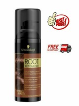 Schwarzkopf Root Retoucher BROWN CAOBA AKAZOU **Root Cover Spray** 120 ml - $19.77