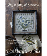 Sing A Song Of Seasons #5 Loose Feathers For the Birds cross stitch Blac... - $9.00