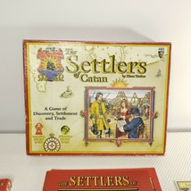 The Settlers of Catan 1996/1997 by Klaus Teuber 100% Complete #483 Mayfa... - $59.35