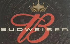 Budweisers Beer Coasters 4 Man Cave Beer Racing Bud - $9.45