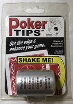 Poker Tips Decision Maker Novelty Gift Shaker - $7.64