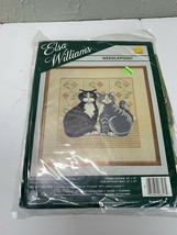 Cats Professor Mallone and Miss Sally Needlepoint Kit -  by Elsa Williams 06313 - $18.65