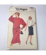 Vogue 9006 Size 8-12 Misses' Top Skirt - $11.64