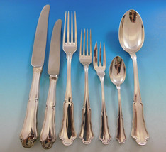 Savoy by Buccellati Clemanti Italy 800 Silver Flatware Set for 12 Dinner 84 pcs  - $10,687.50