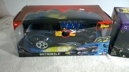 Batman Electronic Batmobile Lot x2 Mattel Extreme Power & Action Factory... - $65.78