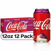 Coca Cola Cherry Vanilla Coke (12 pack) - $22.95
