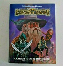 TSR Forgotten 1993 A Grand Tour of the Realms AD&D Dungeons 2nd Ed 1085XXX1901 - $19.79