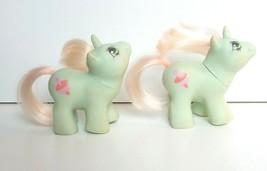 Vintage My Little Pony Twin Unicorns, Jebber Jabber, Hasbro 1987, Genera... - $39.47