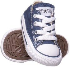 Converse All Star Chuck OX 7J237 Canvas Navy Blue Kids Baby Toddler Shoes - $28.95