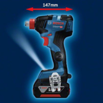 Bosch GDX 18V-200C 2-in-1 EC Brushless 147mm 200Nm 3,400rpm L-Boxx 2x6.0Ah FedEx image 5