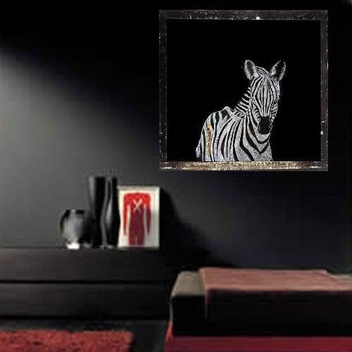 Primary image for Original Scratch Drawing by Artist Zebra