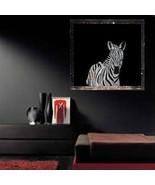 Original Scratch Drawing by Artist Zebra - $14.95