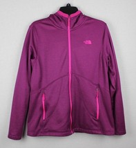The North Face women's sweatshirt hoodie full zipper burgundy size L/G - $21.12
