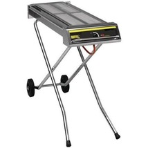 Folding Propane Gas Barbecue On Wheels Char Grills Variable Heat Control... - $784.82
