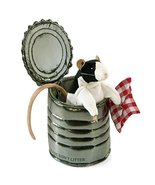 "Folkmanis Rat in Tin Can Hand Puppet, 8"", White/Black/Tan - $21.59"