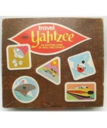 1970 Travel Yahtzee No. 925 Lowe Dice Game Vintage - $24.99